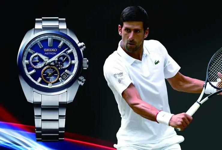 Novak Djokovic Astron GPS