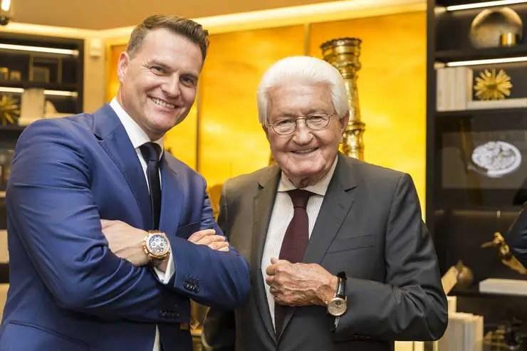 Joerg Bucherer (rechts), Sascha Moeri (links)
