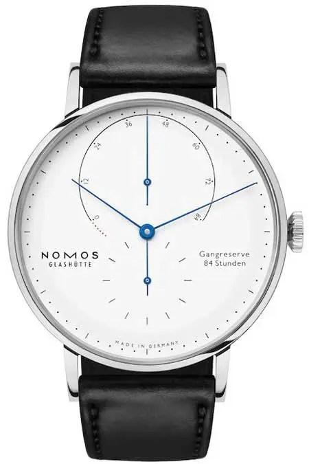 nomos Lambda 175 Years Watchmaking white