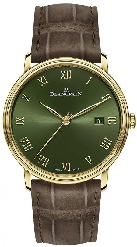 Blancpain Villeret Extra Plate Boutique Edition
