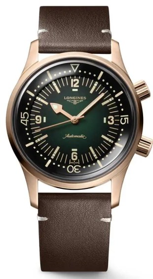 Longines Legend Diver Watch Bronze