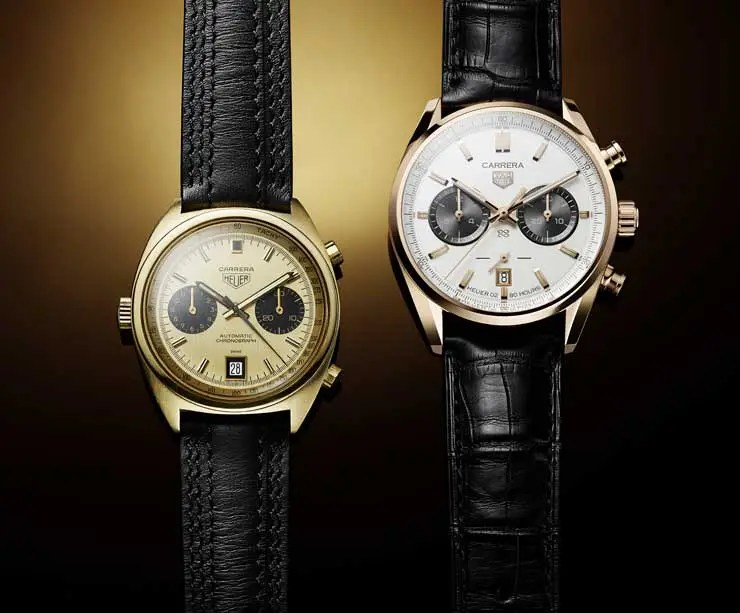 TAG Heuer Carrera Jack Heuer Birthday Gold Limited Edition