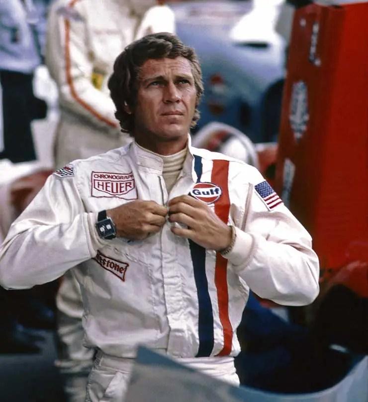 Heuer Monaco, Steve McQueen im Film Monaco