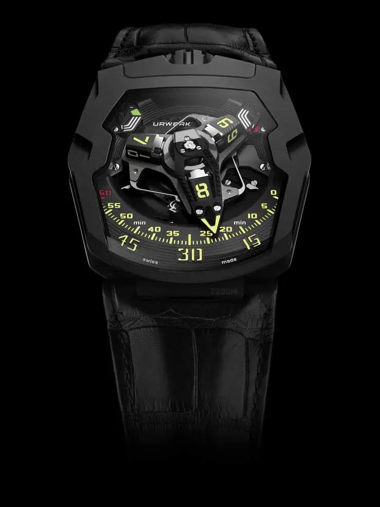 Urwerk UR 220 all black