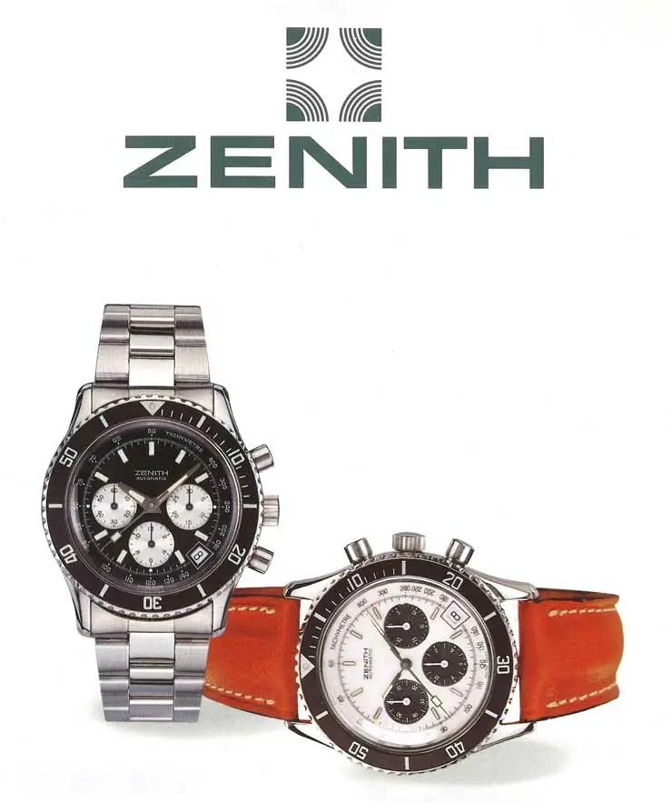 740.2 03 Zenith Heritage Chronomaster De Luca