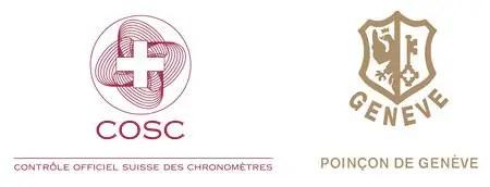 Cosc Logo Und Poincon De Geneve Siegel
