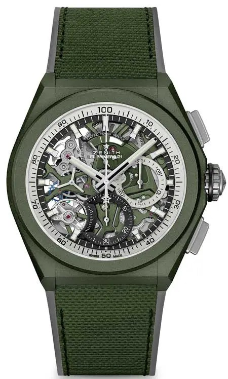450.Zenith Defy 21 Urban Jungle