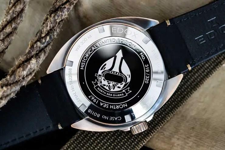 740.2 80118 Edox North Sea 1967 Automatic Historical Limited Edition