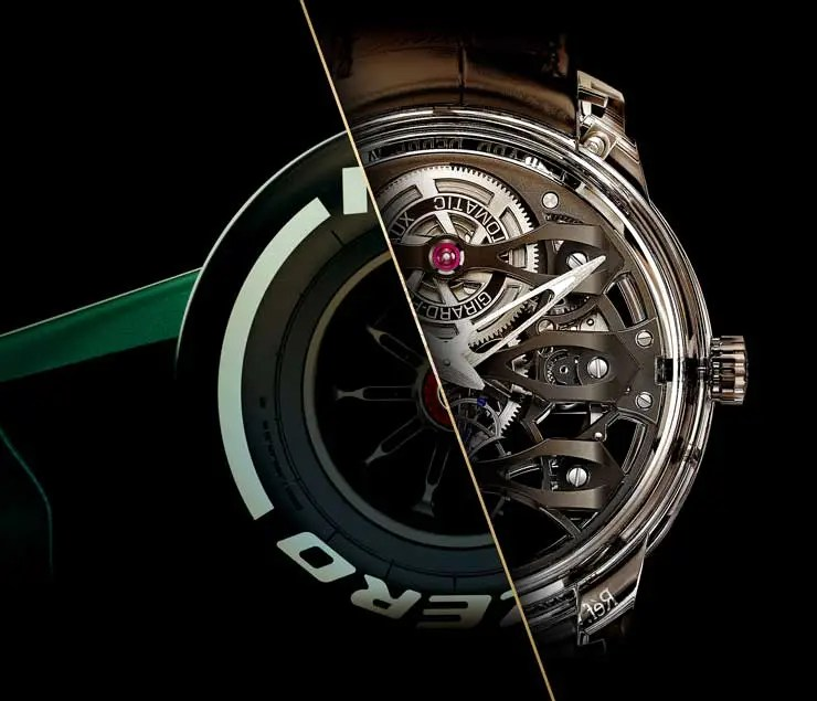 740.2 Girard-Perregaux wird offizieller Uhrenpartner von Aston Martin