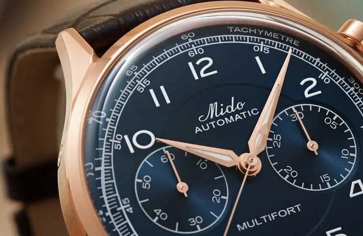 740.3 Mido Multifort Patrimony Chronograph