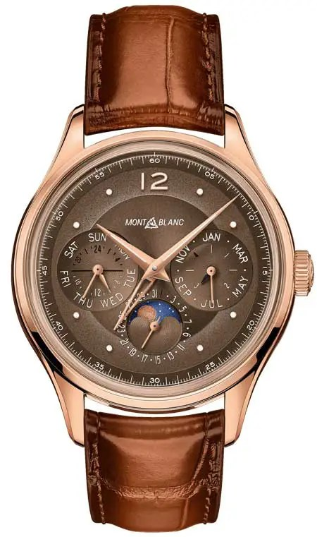 450.vs Montblanc Heritage Manufacture Perpetual Calendar Limited Edition 100
