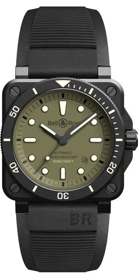 450.1 Bell & Ross BR 03 Diver Military
