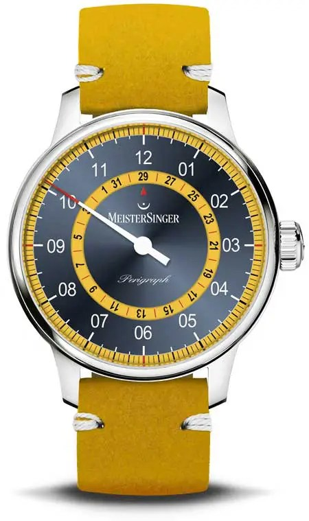 450.s MeisterSinger Perigraph Mellow Yellow