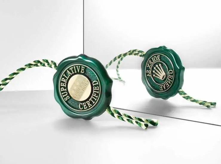 740.2.1 Rolex Siegel Zertifizierung als Chronometer der Superlative