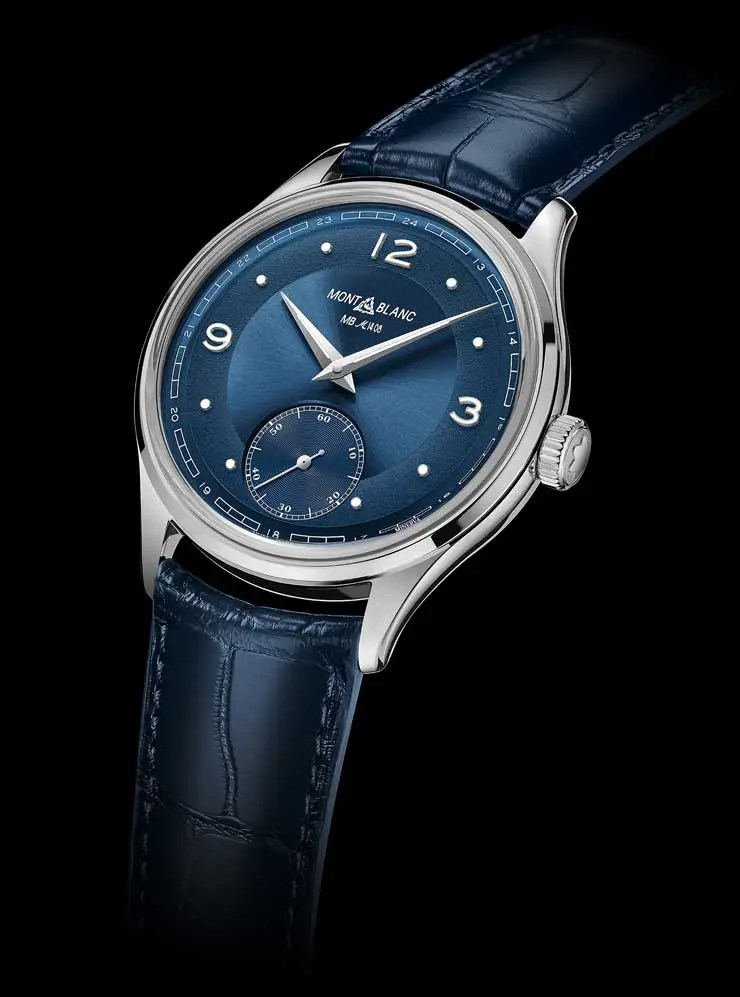 740.Montblanc Heritage Pythagore Small Second Limited Edition 148