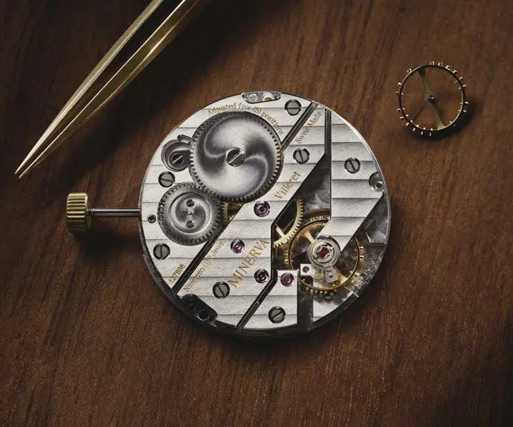 740.mvmt Montblanc Heritage Pythagore Small Second Limited Edition 148