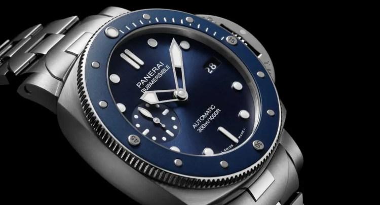 1140.2 Panerai Submersible Blu Notte (Ref. PAM01068)