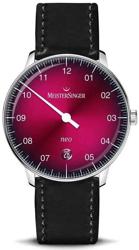 450.MeisterSinger Neo Bordeaux