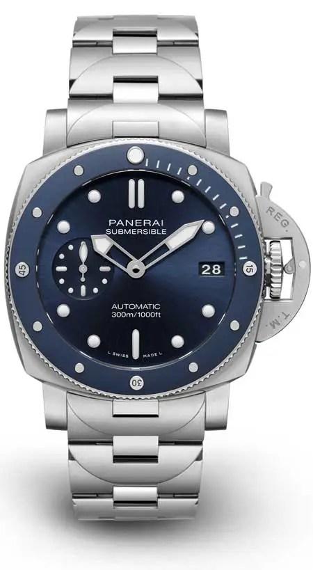 450. Panerai Submersible Blu Notte (Ref. PAM01068)