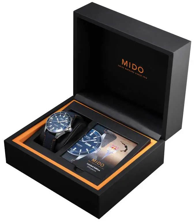 680.Mido Ocean Star 200 Red Bull Cliff Diving limited Edition