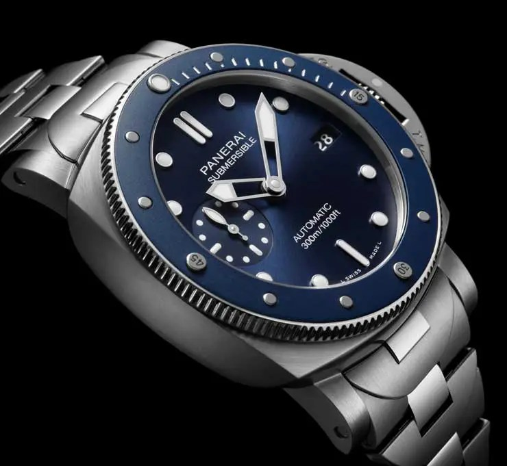 740. Panerai Submersible Blu Notte (Ref. PAM01068)