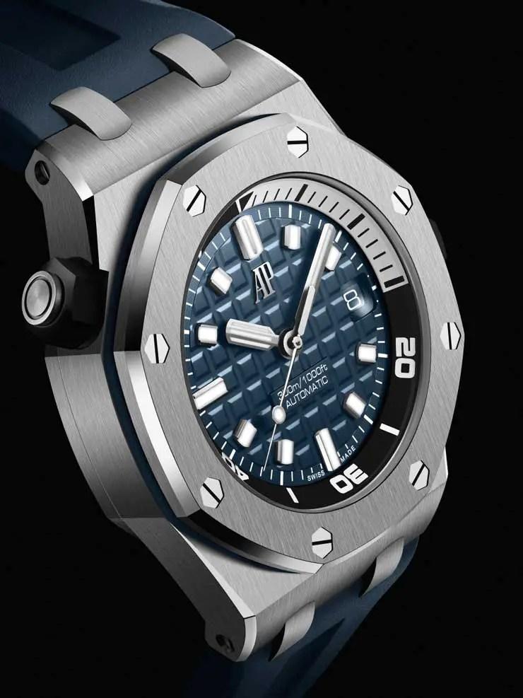 740.blau Royal Oak Offshore Diver