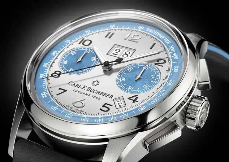 740.1 Carl F. Bucherer Heritage BiCompax Annual ONLY WATCH Edition