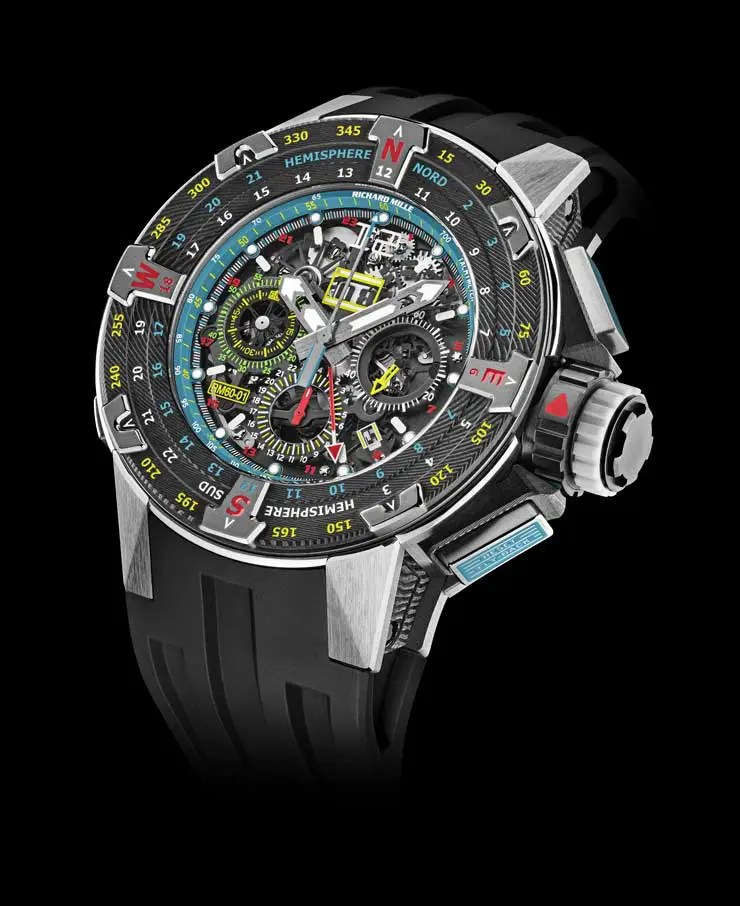 740.1 rm60 01RM 60-01 Automatic Flyback Chronograph Les Voiles de St Barth