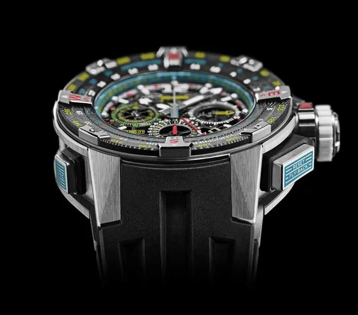 740.2 RM 60-01 Automatic Flyback Chronograph Les Voiles de St Barth