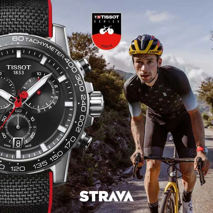 740.3 Die technischen Features der Tissot Supersport Chrono La Vuelta