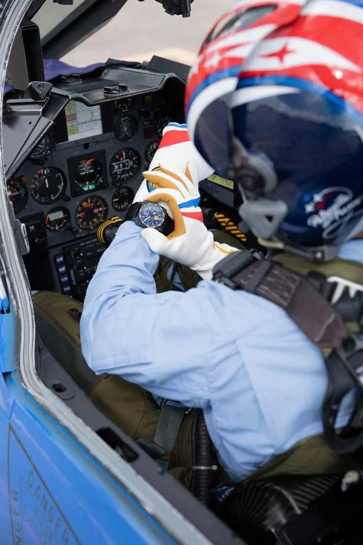 740. Bell & Ross BR 03-94 Patrouille de France