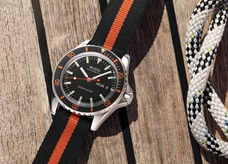 740.tb Mido Ocean Star Tribute limited Edition Germany