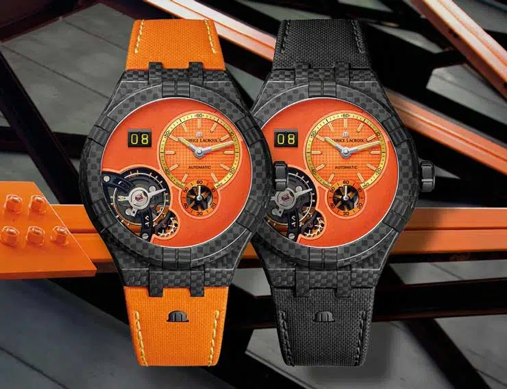 740mlMaurice Lacroix Aikon Master Grand Date ONLY WATCH 2021