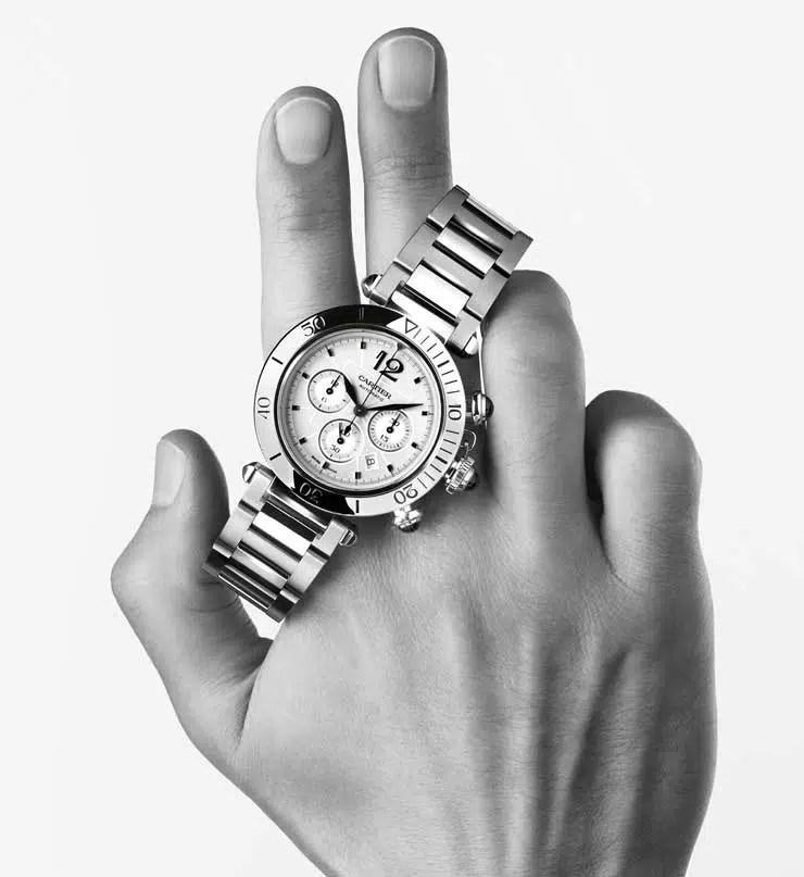740wrs Pasha de Cartier Chronograph