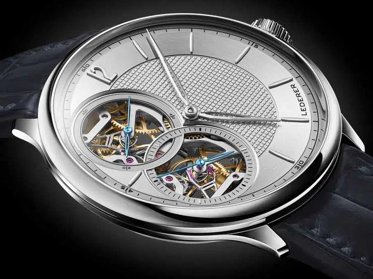 740.8 Bernhard Lederer Central Impulse Chronometer