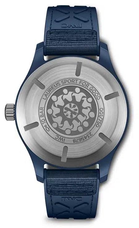 "450iw328101 IWC Pilot's Watch Automatic Edition ""Laureus Sport for Good"""
