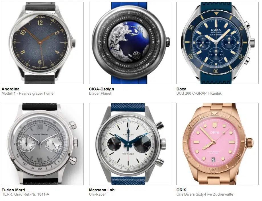 gphg nominierte Uhren Kategorie Herausforderung