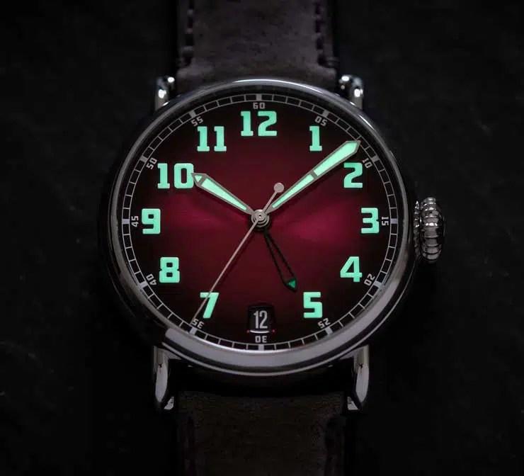 740dark Moser & Cie Heritage Dual Time