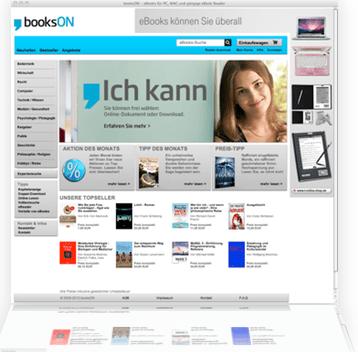 <em>booksON Online Buchgeschäft, München</em>