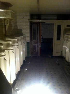 Viktorianische Herrentoilette