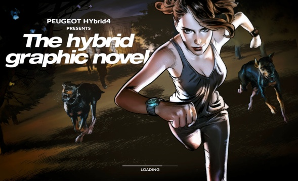 The hybrid graphic novel