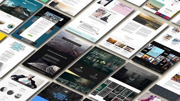 AI generierte Webseiten von © The Grid