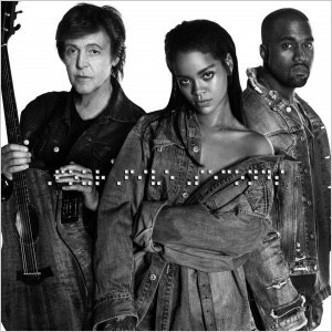 FourFiveSeconds, FourFiveSeconds, Paul McCartney, Rihanna, Kanye West.