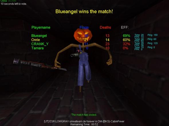 Unreal Tournament mit Stingray alias Blueangel
