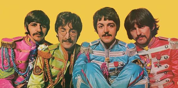 Sgt. Pepper inner sleeve design
