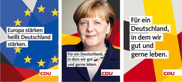 CDU Wahlplakate 2017