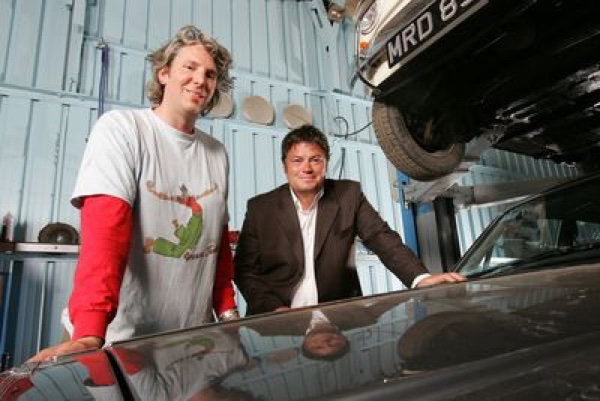 Mike Brewer u. Edd China. Der Mechaniker und der Verkäufer.