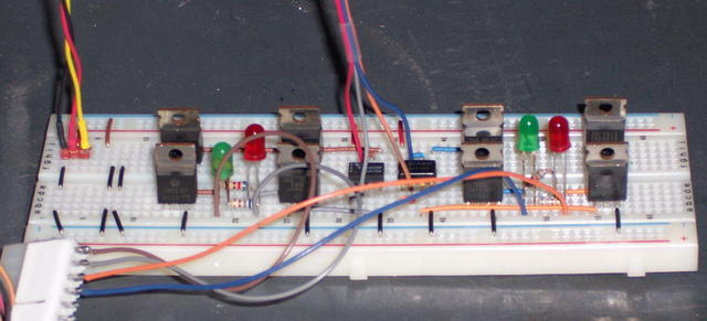 Figure 81 First Mosfet Test Circuit