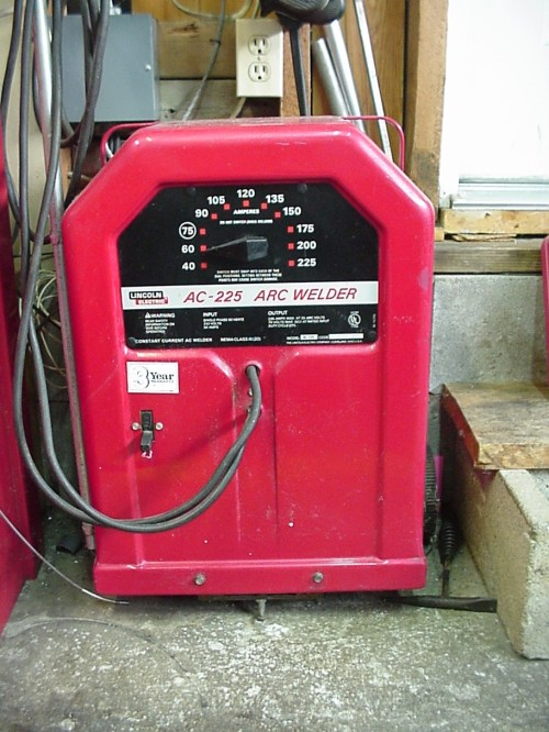 small resolution of old school lincoln buzz box ac welder