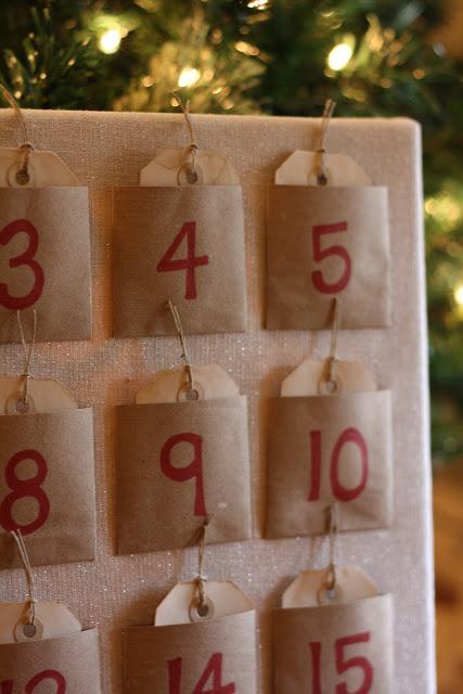 DIY calendrier de l avent 10